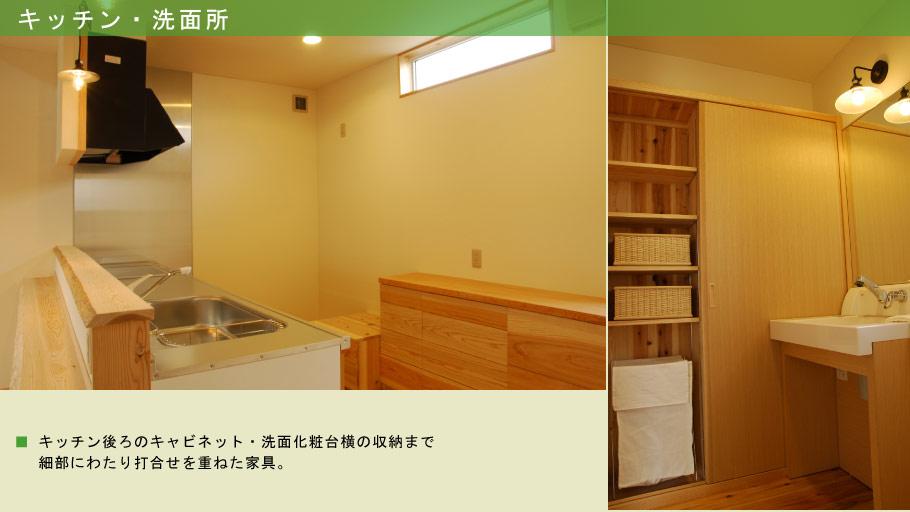 キッチン・洗面所
